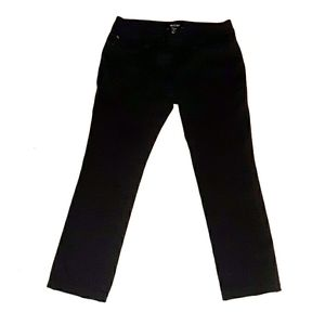 WHBM Slim Leg Stretch Crop Pants 2S